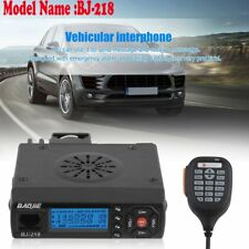 25W Output Power Mini Car Mobile Radio Bj-218 Vhf/Uhf 136-174/400-470Mhz Radio