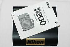 Genuine Nikon D200 fotocamera reflex digitale guida utente originale manuale di istruzioni