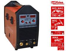 MIG MAG WIG TIG MMA Stick Schweissgerät MTS-160 Pro IGBT 230V Inverter 160Amp.