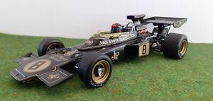 F1 LOTUS FORD TYPE 72D WINNER BRITISH GP 1972 FITTIPALDI 1/18 EXOTO 97030 formul