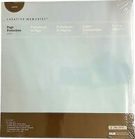 "Creative Memories 12x12 page protectors, NIP (new pack of 16) 12"" x 12"" (true)"