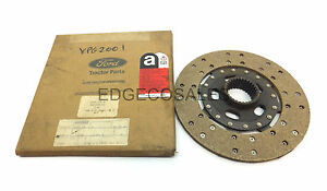 """PTO Clutch Friction Disc Fits Ford """"3 & 4 Cylinder"""" Tractor 81818610"""