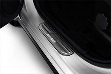 2013 MIRAGE HATCH STAINLESS SCUFF PLATES GENUINE MITSUBISHI SET OF 4