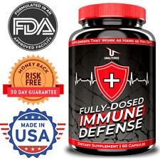 Immune System Booster - Elderberry, Probiotics, Vitamin C, Zinc & Multi-Vitamin
