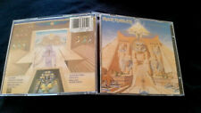 Iron Maiden POWERSLAVE CD Original First HOLLAND EMIl Release CDP 746045 2  9