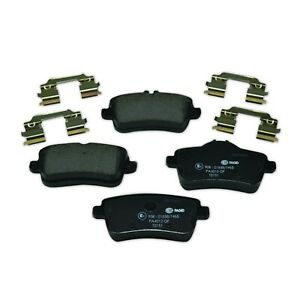 Hella Pagid Rear Brake Pads fits Mercedes A-CLASS W176 A 45 AMG 4-matic