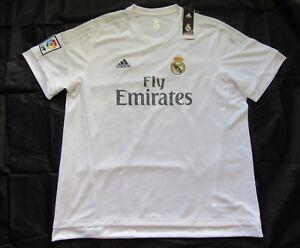 REAL MADRID NEW TAGS home shirt jersey adidas 2015-2016 trikot adult SIZE XXL