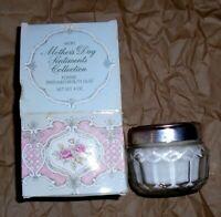 "Avon  ""Mother's Day- FOXFIRE"" Beauty Dust Talc + Puff 4 oz. NOS Mint Cond F/S"