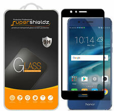 2X Supershieldz Huawei Honor 8  Full Cover Tempered Glass Screen Protector Black