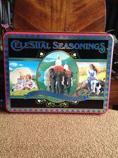 Tea Tin Celestial  Seasonings 1994 Specialty Tea Collection Empty Collectable