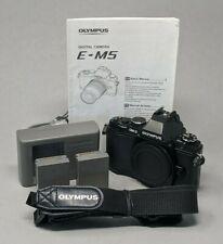 Olympus OM-D EM-5 16MP 3'' Screen Digital Camera Black - Body Only