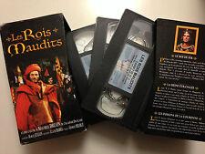 COFFRET 3 VHS LES ROIS MAUDITS