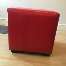Faux Leather Contemporary Footstools