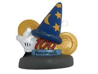 Vintage WALT DISNEY WORLD 100 Years Of Magic Sorcerer's Hat Coin Bank Wizard Hat