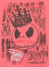 TIM BURTONS Nightmare Before Christmas Jack Skellington T-Shirt Adult Large NWT