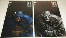 BATMAN DARK KNIGHT DK III/3 THE MASTER RACE 9 GREG CAPULLO +SKETCH GRAY VARIANT
