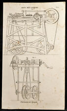 1852 - Engraving Arts Machine Heads Making Pins (2) . Industry