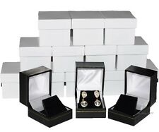 Jewelry Box for Earrings Box Luxury Earring Box Black Jewelry Boxes in Bulk 15Pc