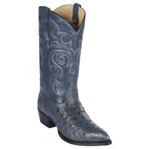 Men's Los Altos Genuine Full Quill Ostrich Western Cowboy Boots J Toe