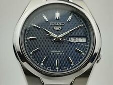Seiko 5 Automatic Blue Dial Silver Steel Men's Watch SNK603K1 PREOWNED