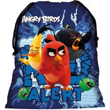 Angry Birds Bolsa de Zapatos de película gruesa de lana Escuela Deporte Gimnasio Danza Natación Pe viajes, vacaciones