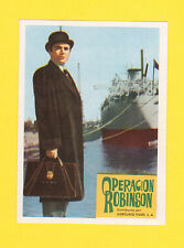 A Touch of Larceny James Mason Rare CINE 1962 Card from Spain