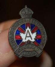 New listing Vintage British Empire Service League - Canadian Legion Pin Medal Ww1