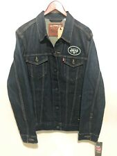 New York Jets Officially Licensed NFL Levi's Jean Jacket Men's Size Large NWT