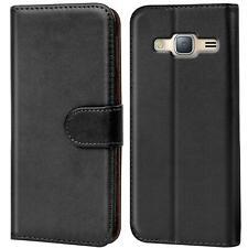 Book Case für Samsung Galaxy J3 2016 Hülle Tasche Flip Cover Handy Schutz Hülle