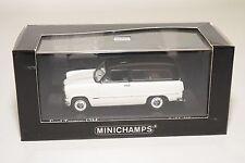 . MINICHAMPS FORD TAUNUS 12M 12 M BREAK TURNIER WHITE BLACK MINT BOXED
