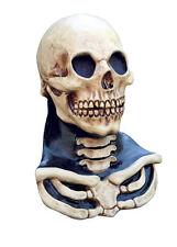Rib Cage Neck Skeleton Skull Mask Halloween Costume Accessory Long Neck Adult
