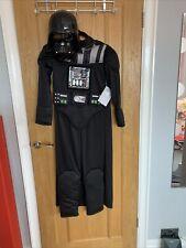 Star Wars Darth Vader Kids Costume Fancy Dress Size 9/10 Disney Store Halloween