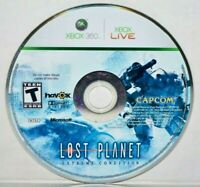 Lost Planet: Extreme Condition (Microsoft Xbox 360, 2007) Video Game Disc Only