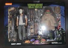 NECA TMNT Casey Jones Raphael in Disguise 2 Pack Ninja Turtles Movie Figures