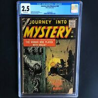 JOURNEY INTO MYSTERY #48 (Atlas 1957) 💥 CGC 2.5 OW 💥 ONLY 20 in CENSUS!
