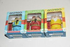 set 3 Android Special GODS Figures vinyl toy Google FORTUNE LONGEVITY BLESSING b