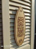 Surfboard Wall Art, Surfers gift, Maori,Bar Decor,Beach Decor,Сhild's room Decor