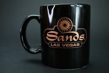 Vintage Ceramic Sands Las Vegas Hotel & Casino Coffee Tea Cup Mug Beverage Bar