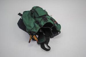 Outward Hound Dog Backpack Pet Travel Gear Hiking Quick Release Green Sz Medium