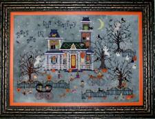 PRAISEWORTHY STITCHES Cross Stitch Pattern Chart DARKWING MANOR Halloween