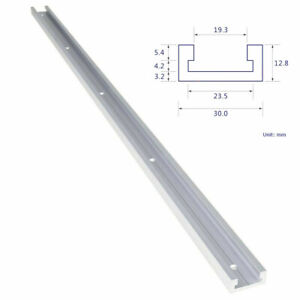 Aluminium Alloy T Track Miter 300-500mm Slider Miter Jig Woodworking Tool New