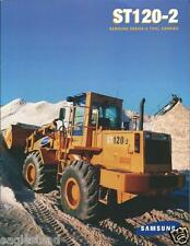 Equipment Brochure - Samsung - St120-2 - Tool Carrier - c1998 (E2585)