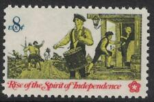 Scott 1479- Drummer, Colonial Communications- MNH 8c 1973- unused mint stamp