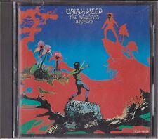 Uriah Heep The Magician's Birthday Japan 1st CD 1989 TECP-18009