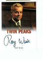 Ray Wise as Leland Palmer Twin Peaks autograph cards Rittenhouse 2018