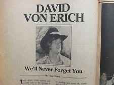 David Von Erich Ebay