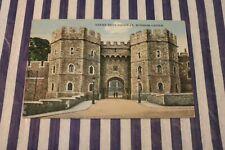 Henry VIII's Gateway, Windsor Castle Postmark 1935