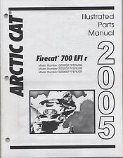 2005 ARCTIC CAT SNOWMOBILE FIRECAT 700 EFI r  PARTS MANUAL (397)