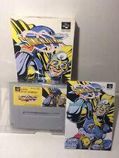 SONIC BLAST MAN Super Famicom Nintendo Complete