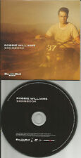 ROBBIE WILLIAMS BEST of w/ 5 RARE LIVE TRX Europe NEWSPAPER PROMO CD USA seller